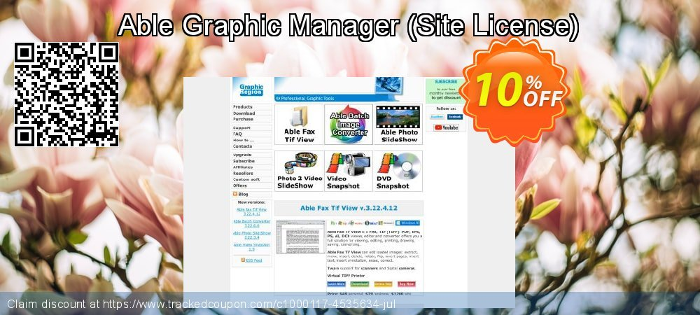 Able Graphic Manager - Site License  coupon on April Fool's Day promotions