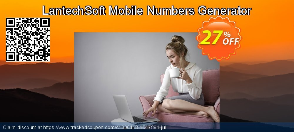 Get 10% OFF Mobile Numbers Generator promotions