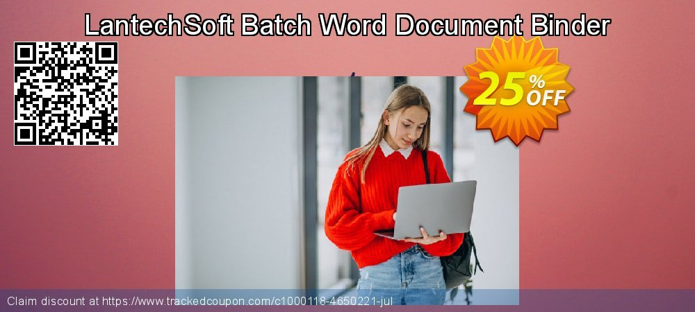 LantechSoft Batch Word Document Binder coupon on May Day offering discount