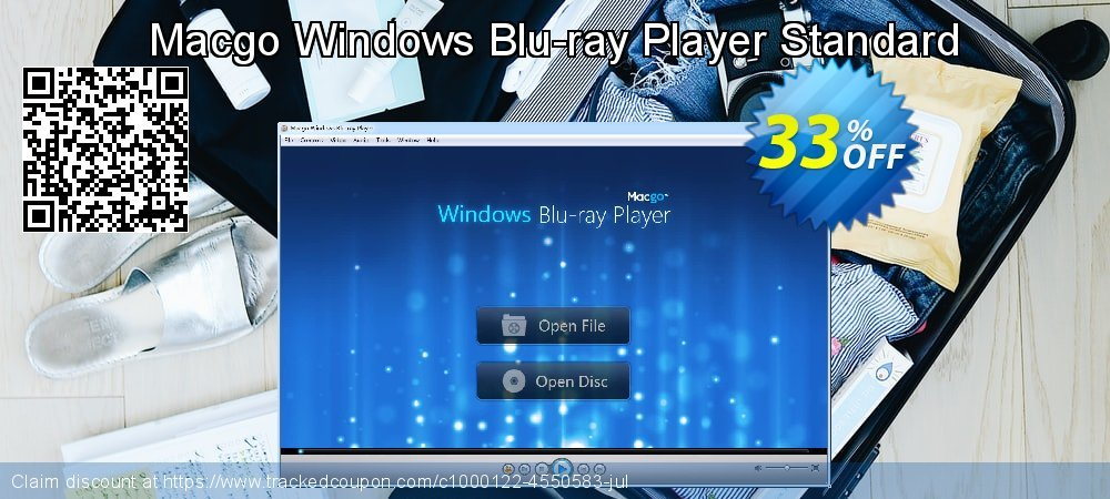 Get 33% OFF Macgo Windows Blu-ray Player Standard discounts