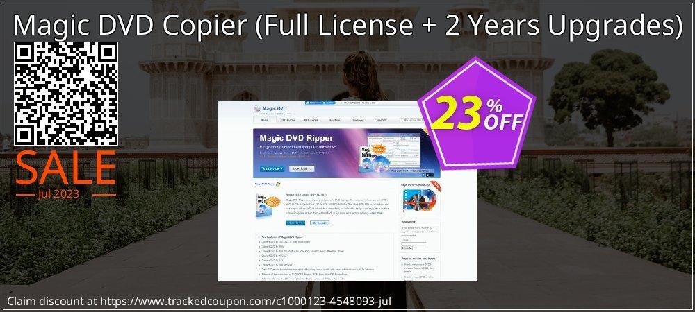 Get 22% OFF Magic DVD Copier (Full License + 2 Years Upgrades) promo sales