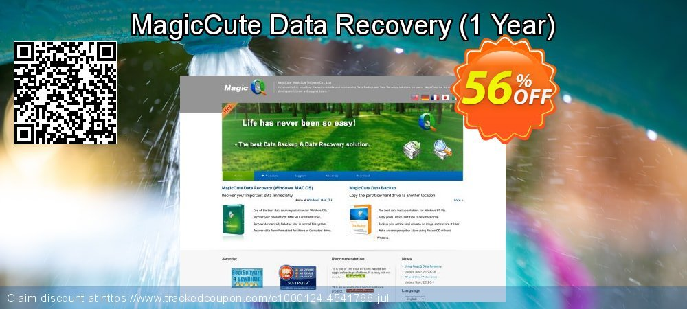 Claim 56% OFF MagicCute Data Recovery - 1 Year Coupon discount December, 2019