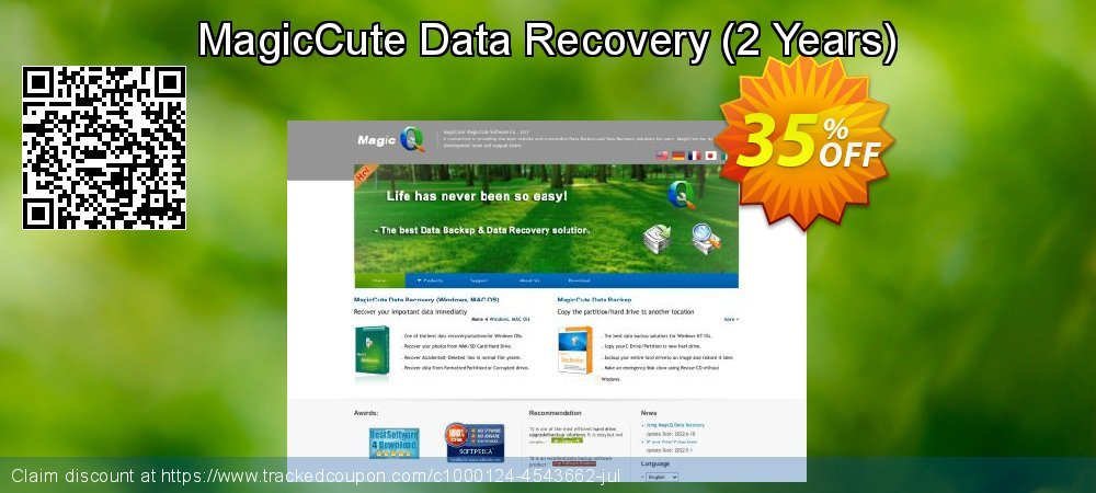 Claim 35% OFF MagicCute Data Recovery - 2 Years Coupon discount December, 2019