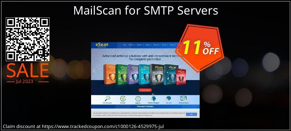 Get 10% OFF MailScan for SMTP Servers offering discount