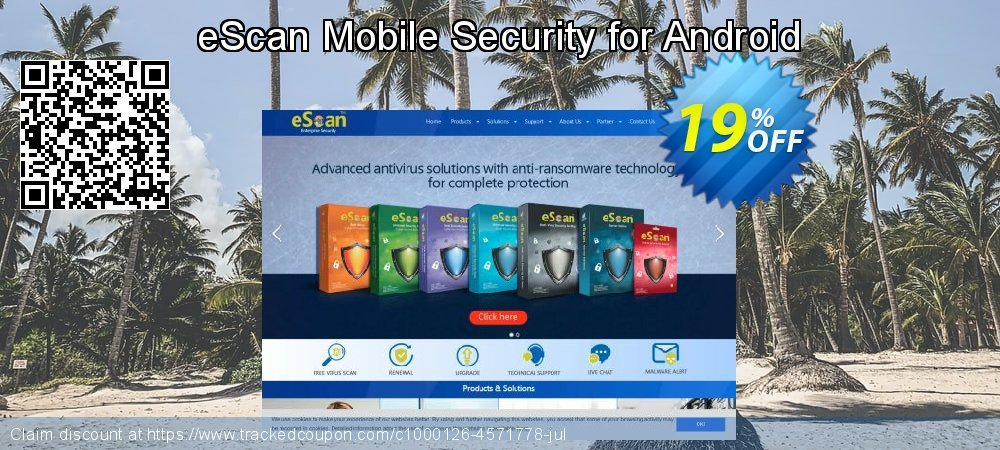 Get 16% OFF eScan Mobile Security for Android promo sales
