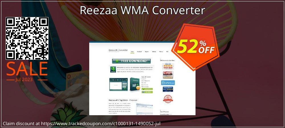 Get 52% OFF Reezaa WMA Converter offering discount