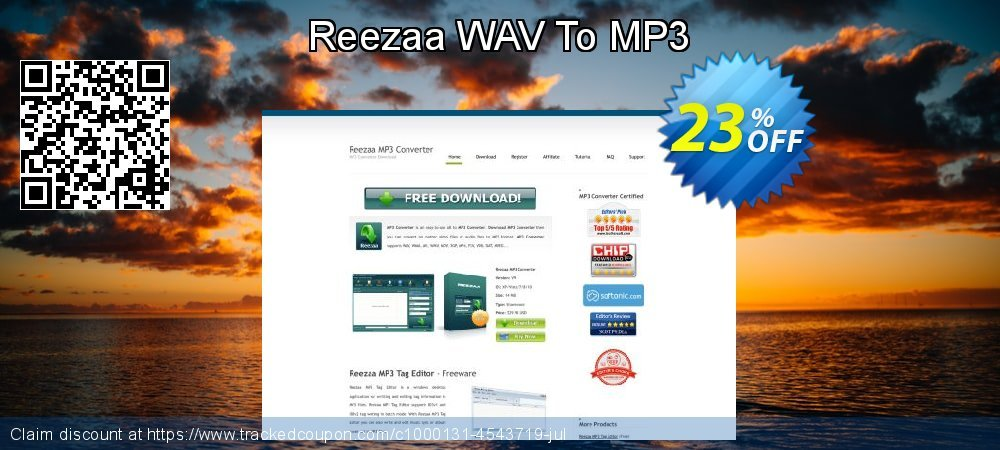 Reezaa WAV To MP3 coupon on Back to School deals sales