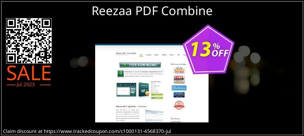 Reezaa PDF Combine coupon on Thanksgiving discount