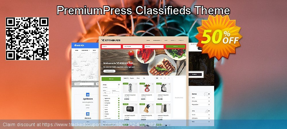 PremiumPress Responsive Classifieds Theme coupon on Easter sales