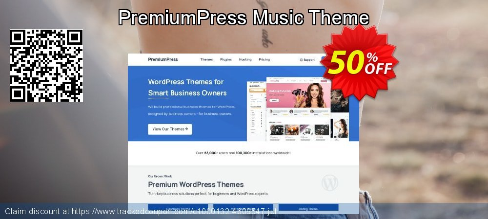 PremiumPress Music Theme coupon on Lunar New Year offering sales