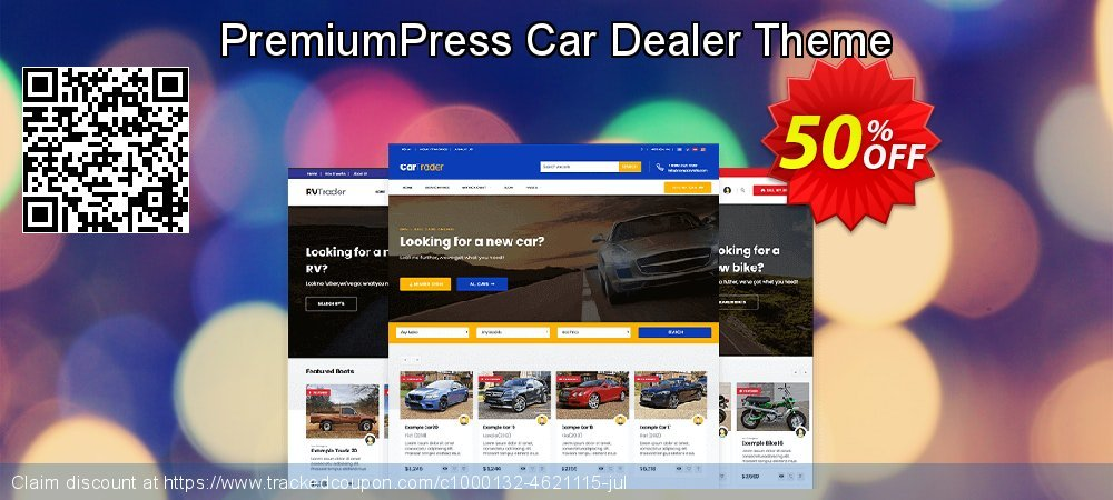 PremiumPress Car Dealer Theme coupon on Lunar New Year promotions