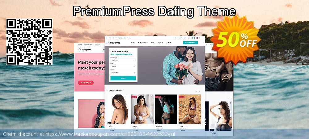 PremiumPress Dating Theme coupon on Happy New Year offer