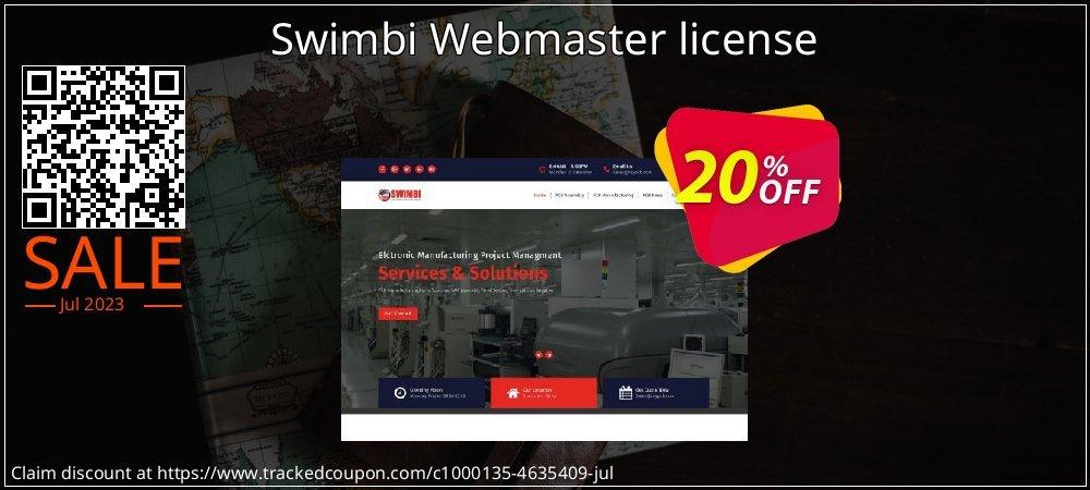 Get 20% OFF Swimbi Webmaster license offering sales