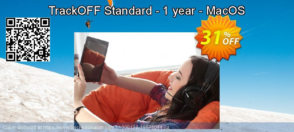 Get 30% OFF TrackOFF Standard - 1 year - MacOS deals