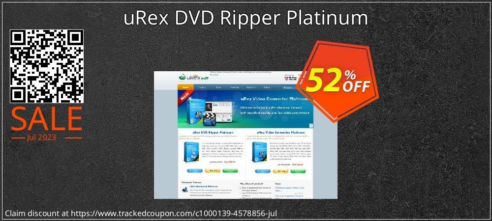 uRex DVD Ripper Platinum coupon on April Fool's Day deals