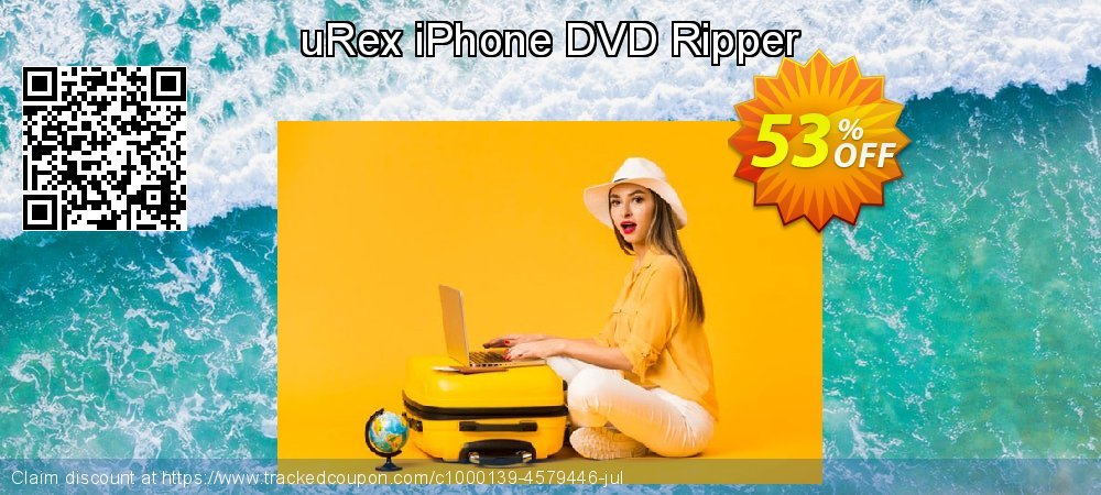 uRex iPhone DVD Ripper coupon on April Fool's Day sales