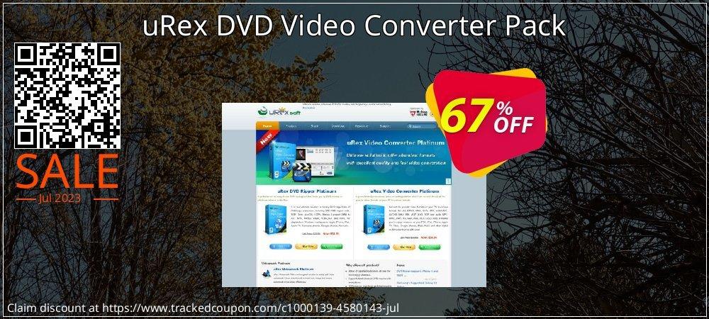 Get 66% OFF uRex DVD Video Converter Pack discounts