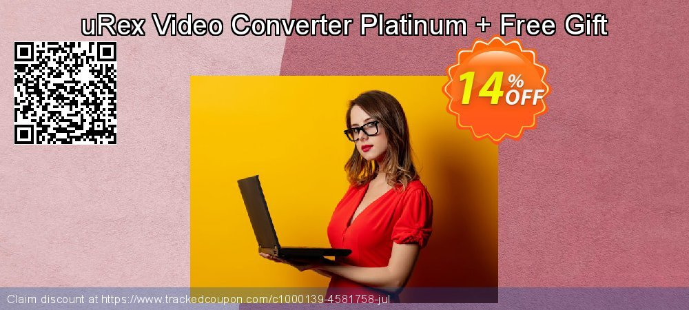 uRex Video Converter Platinum + Free Gift coupon on Back to School deals offering sales