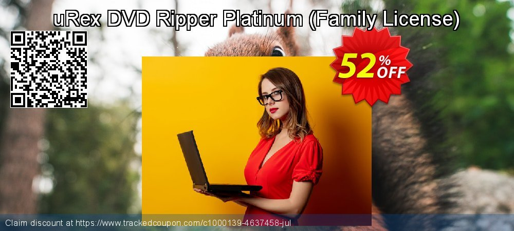 uRex DVD Ripper Platinum - Family License  coupon on Easter discounts