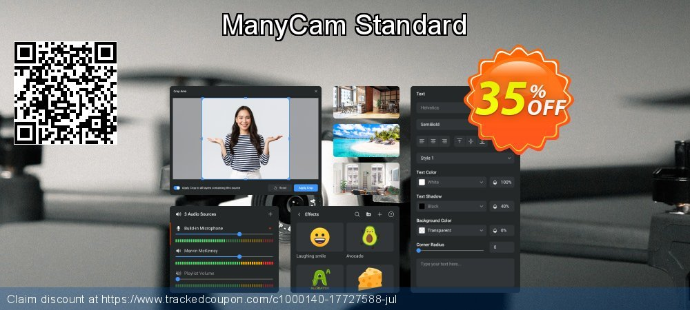 ManyCam Standard coupon on Back to School offering discount