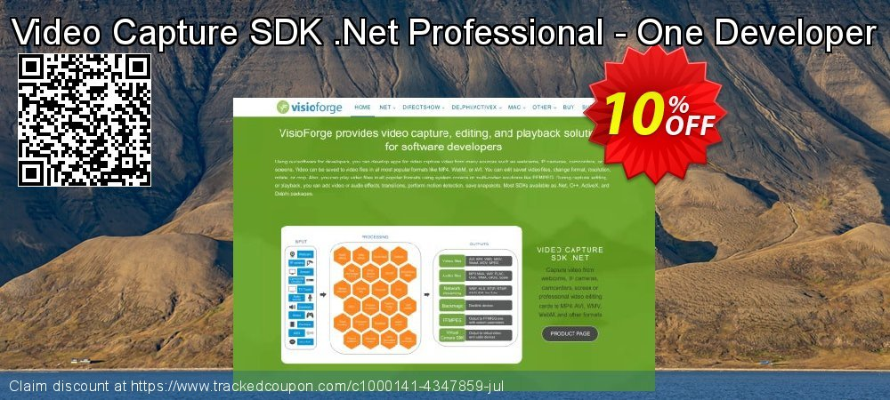 Get 10% OFF Video Capture SDK .Net Professional - One Developer promotions
