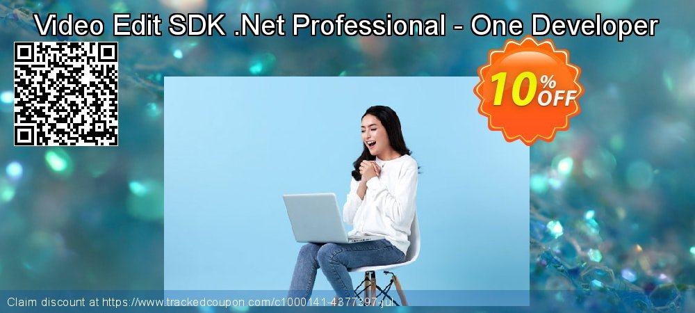 Get 10% OFF Video Edit SDK .Net Professional - One Developer offering sales