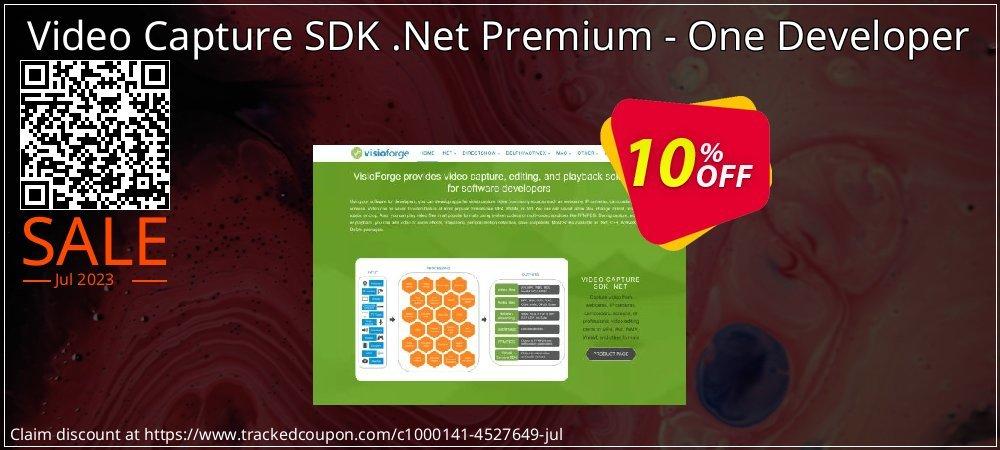 Get 10% OFF Video Capture SDK .Net Premium - One Developer offering sales