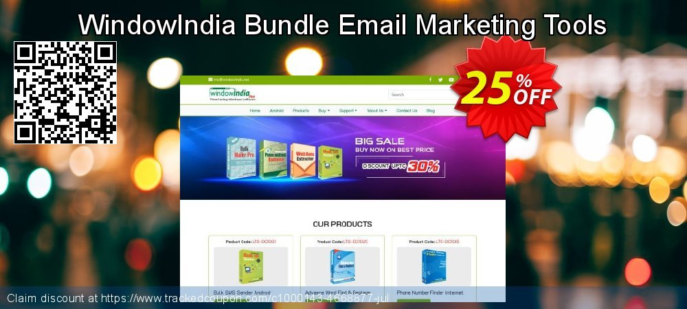 Get 25% OFF Bundle Email Marketing Tools promo sales