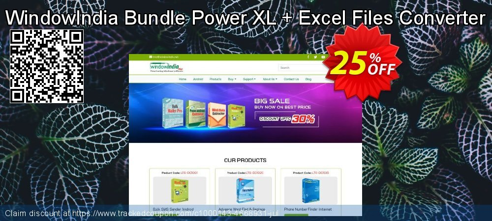 WindowIndia Bundle Power XL + Excel Files Converter coupon on Back to School deals promotions