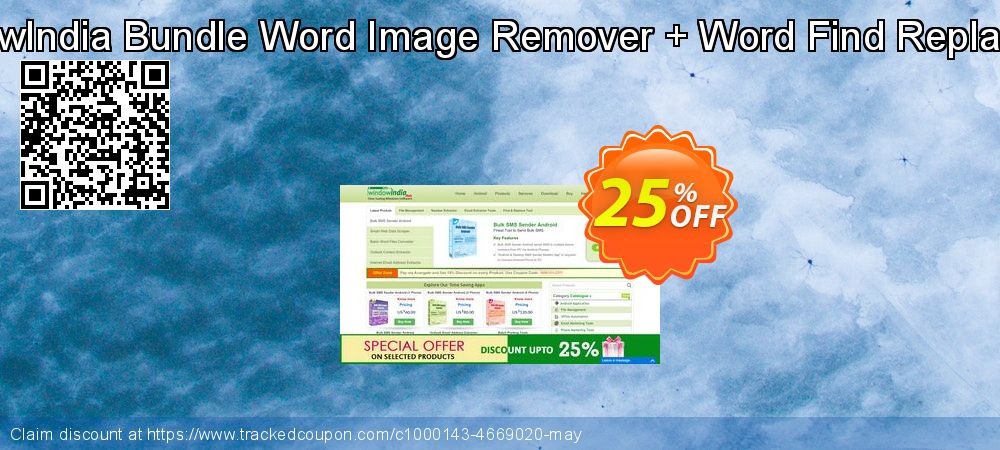 Get 25% OFF Bundle Word Image Remover + Word Find Replace Pro offering sales