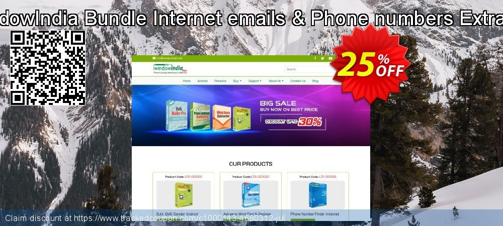 Get 25% OFF Bundle Internet emails & Phone numbers Extracter deals