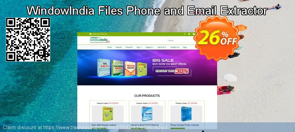 Get 25% OFF Files Phone and Email Extractor offering discount
