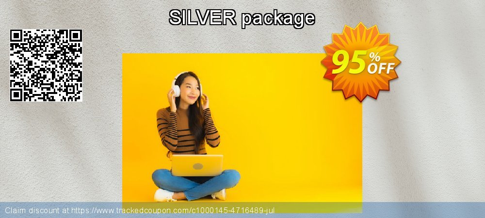 Get 95% OFF SILVER package offering sales