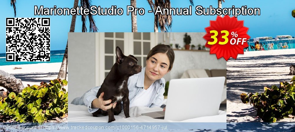 MarionetteStudio Pro - Annual Subscription coupon on Mothers Day promotions