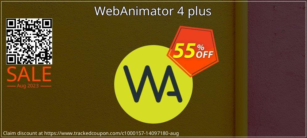 WebAnimator plus 3 coupon on Valentine Week promotions
