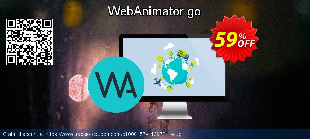 WebAnimator go coupon on Int'l. Women's Day offering discount