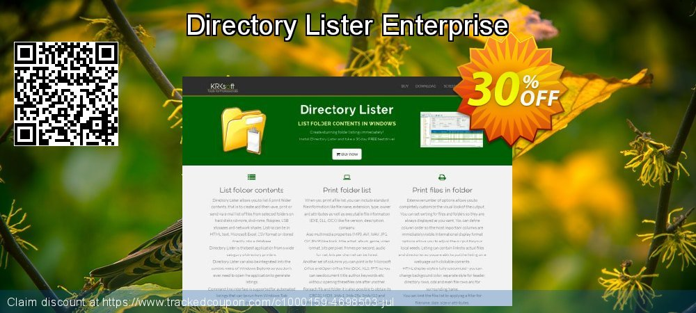 Directory Lister Enterprise coupon on Mothers Day sales