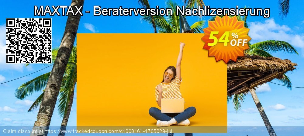 Get 100% OFF MAXTAX - Beraterversion Nachlizensierung offer