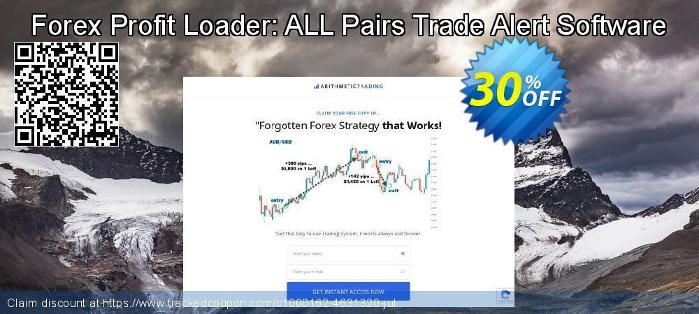 Get 30% OFF Forex Profit Loader: ALL Pairs Trade Alert Software offering sales