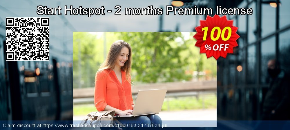 Start Hotspot - 2 months free Premium license coupon on Easter offering sales