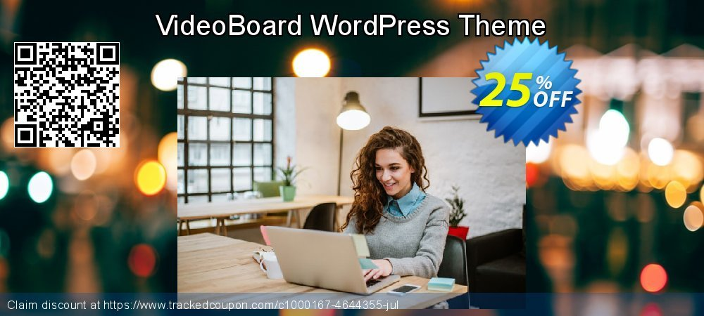 VideoBoard WordPress Theme coupon on Mothers Day offering discount