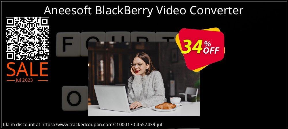 Get 30% OFF Aneesoft BlackBerry Video Converter promo