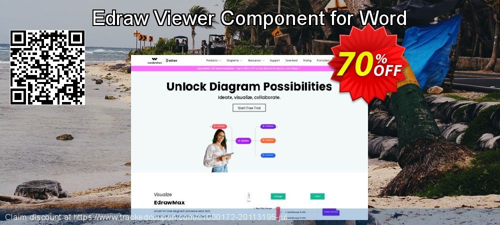 Edraw Viewer Component for Word coupon on Halloween offering sales