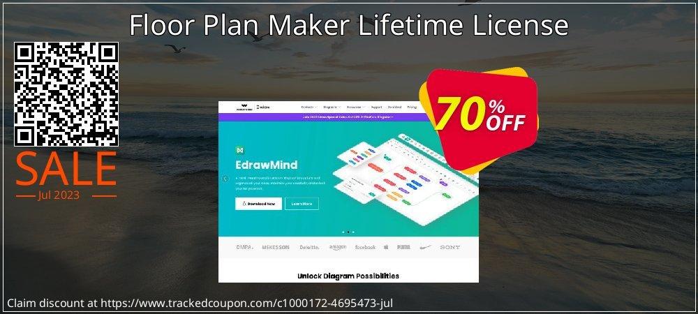 Floor Plan Maker Lifetime License coupon on Back to School promo offer