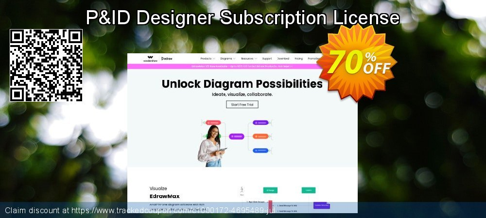 P&ID Designer Subscription License coupon on Back to School promotion sales