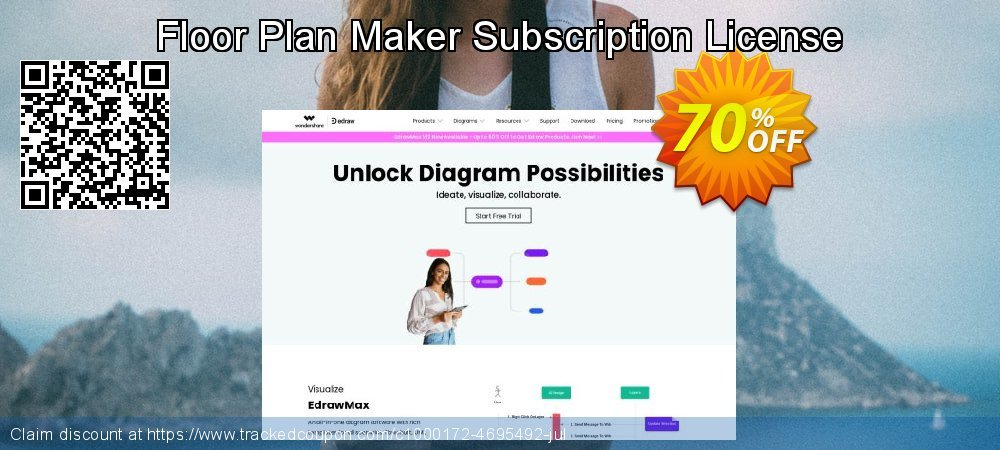 Floor Plan Maker Subscription License coupon on Back to School promotions discount