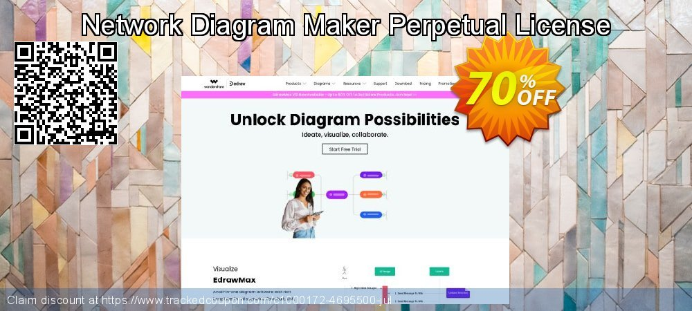 Network Diagram Maker Perpetual License coupon on Exclusive Student discount offer