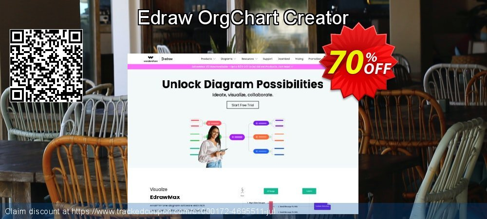 Edraw OrgChart Creator coupon on Lunar New Year offering sales