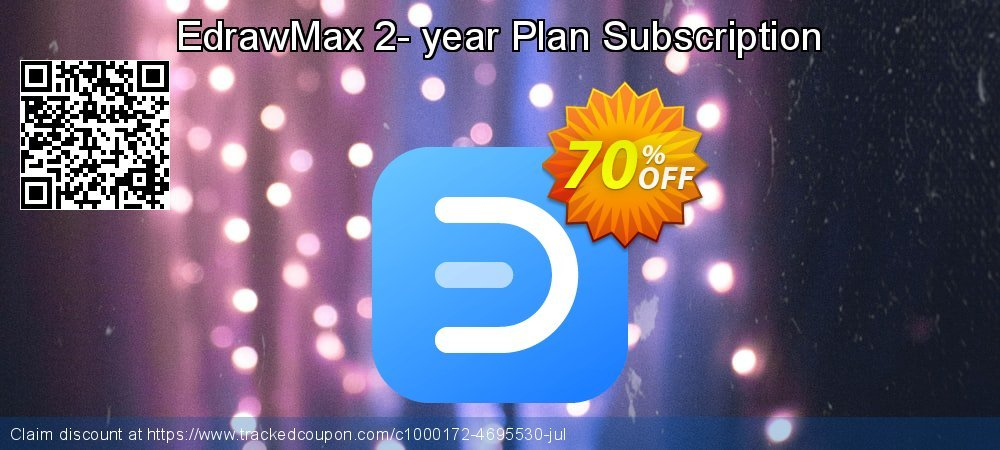 Edraw Max Perpetual License coupon on Back to School coupons offering sales