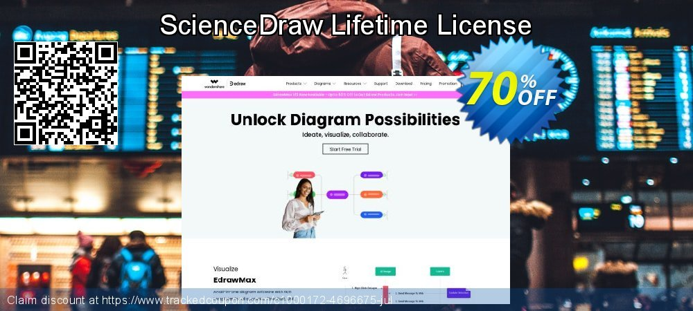 ScienceDraw Lifetime License coupon on University Student offer discounts